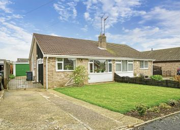 Thumbnail 2 bed semi-detached bungalow for sale in Mill View, Sawtry, Huntingdon, Cambridgeshire.