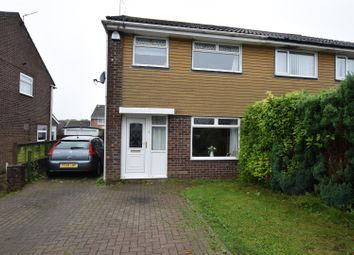 Thumbnail 3 bed semi-detached house for sale in Andover Close, Barry