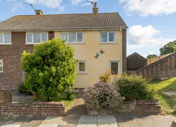 Thumbnail 2 bed semi-detached house for sale in Old Folkestone Road, Dover, Kent