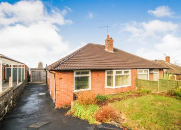 Thumbnail 2 bed semi-detached bungalow for sale in Saunby Close, Arnold, Nottingham