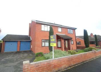 Thumbnail 4 bed detached house for sale in Westfields Close, Baschurch, Shrewsbury