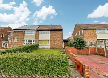 Thumbnail 3 bed semi-detached house for sale in Amersham Crescent, Peterlee