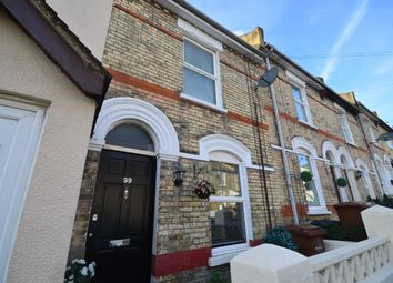 Thumbnail 2 bed terraced house to rent in Kitchener Road, Strood, Rochester
