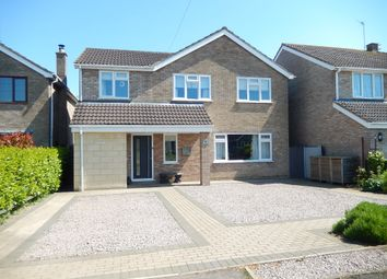 Thumbnail 4 bed detached house for sale in New Road, Langtoft, Peterborough