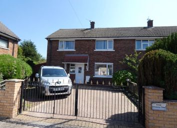 Thumbnail 3 bed semi-detached house for sale in Central Drive, Spennymoor