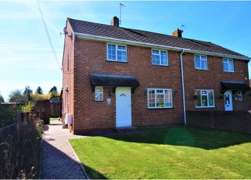 Thumbnail 3 bed semi-detached house for sale in Belle Vue Road, Old Basing, Basingstoke