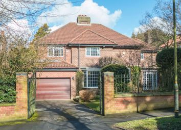 Thumbnail 6 bed detached house for sale in Wainwright Road, Altrincham