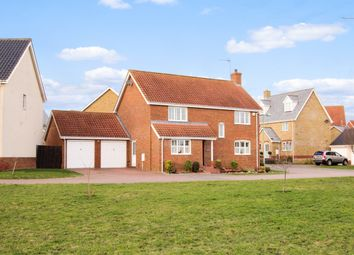 Thumbnail 4 bed detached house for sale in Saxon Close, Debenham, Stowmarket