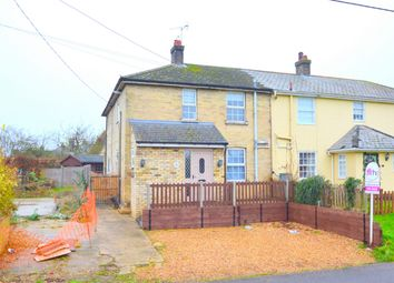 Thumbnail 3 bed semi-detached house for sale in Graveley Road, Offord Darcy, St. Neots, Cambridgeshire