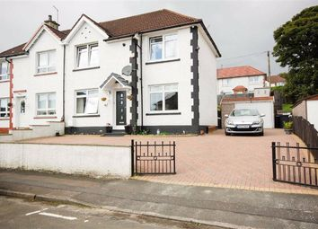 Thumbnail 2 bed semi-detached house for sale in Birch Road, Clydebank