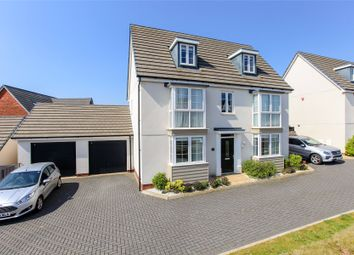 Thumbnail 5 bed detached house for sale in Newcourt Way, Exeter