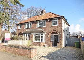 Thumbnail 3 bed semi-detached house for sale in Belmore Road, Thorpe St. Andrew, Norwich