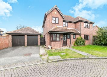 Thumbnail 4 bed detached house for sale in Burr Close, Ramsey, Harwich
