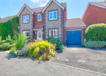 Thumbnail 4 bed detached house for sale in Smithy Drive, Park Farm, Ashford