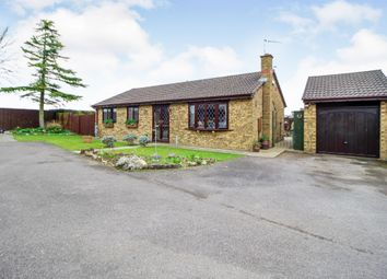 Thumbnail 3 bed detached bungalow for sale in Lewin Close, Rothwell, Kettering