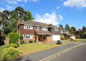 Thumbnail 5 bed detached house for sale in Chatsworth Heights, Camberley, Surrey