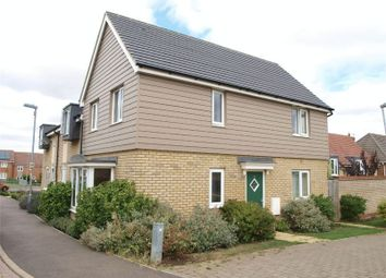 Thumbnail 3 bed end terrace house to rent in Cromwell Drive, Huntingdon