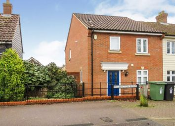 3 bed end terrace house for sale in Wellington Road, Watton, Thetford IP25