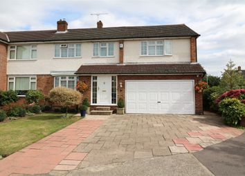 Thumbnail 5 bedroom semi-detached house for sale in Martins Drive, Cheshunt, Waltham Cross, Hertfordshire