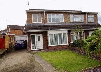 Thumbnail 3 bed semi-detached house for sale in Cherry Tree Road, Bradley, Wrexham