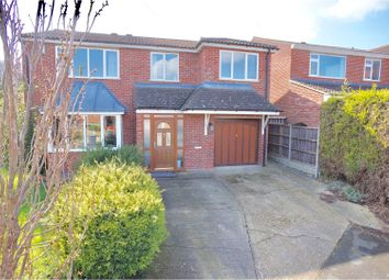 Thumbnail 4 bed detached house for sale in Norwich Close, Washingborough