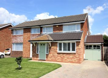 Thumbnail 4 bedroom semi-detached house for sale in Cole Close, Swindon