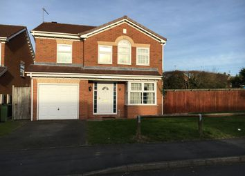Thumbnail 4 bed detached house to rent in Wheatfield Close, Glenfield