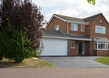 Thumbnail 4 bed detached house for sale in Wisley Close, East Hunsbury, Northampton