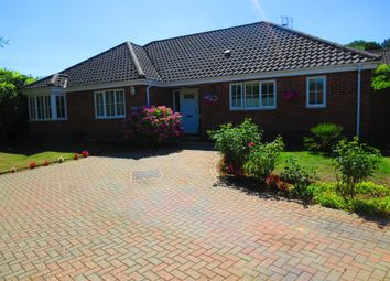 Thumbnail Detached bungalow for sale in West End, Costessey, Norwich