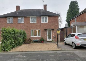 Thumbnail 2 bed semi-detached house for sale in Westminster Road, Cannock, Staffordshire