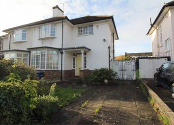 Thumbnail 3 bed semi-detached house for sale in Glendale Avenue, Edgware, Middlesex