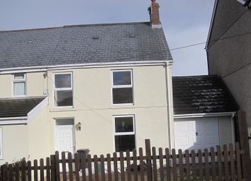 Thumbnail 3 bedroom semi-detached house to rent in Pen Y Bryn, Cwmllynfell, Swansea, City And County Of Swansea.