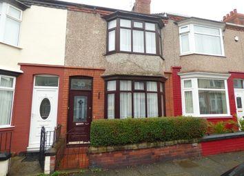 Thumbnail 3 bed terraced house for sale in Fieldside Road, Rock Ferry, Birkenhead