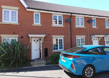 Thumbnail 3 bed terraced house to rent in Burrows Close, Grantham