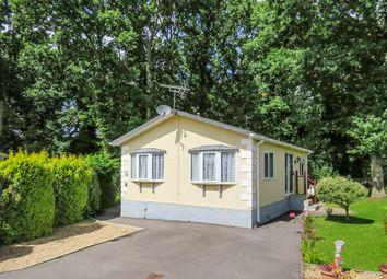 Thumbnail 2 bed mobile/park home for sale in Emms Lane, Brooks Green, Horsham