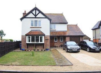 Thumbnail 4 bed detached house for sale in Wavering Lane West, Gillingham