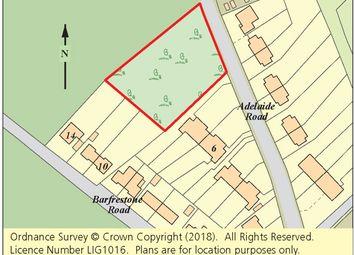 Thumbnail Land for sale in Land Adj. Adelaide Road/Barfrestone Road, Eythorne, Dover, Kent