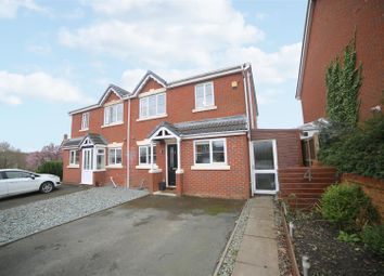 Thumbnail 3 bed semi-detached house for sale in Tom Morgan Close, Lawley Village