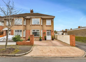 Thumbnail 3 bed semi-detached house for sale in Usk Road, Llanishen, Cardiff