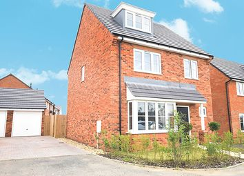 Thumbnail 4 bed detached house for sale in Spiers Crescent, Evesham, Worcestershire