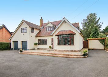 Thumbnail 4 bed detached house for sale in Park Road, Heswall, Wirral
