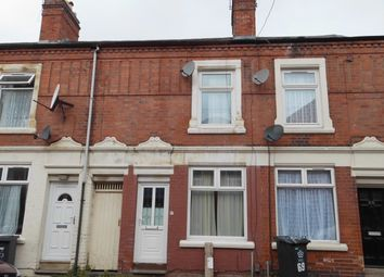 Thumbnail 2 bed terraced house for sale in Halstead Street, Leicester