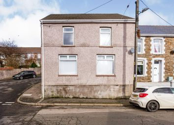 Thumbnail 3 bed end terrace house for sale in Bryn-Bedw Street, Blaengarw, Bridgend