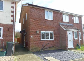 Thumbnail 2 bed end terrace house for sale in Brambling Close, Weymouth, Dorset