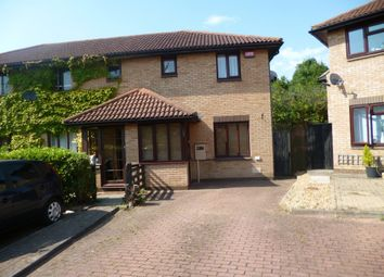 Thumbnail 2 bed end terrace house to rent in Pomander Crescent, Walnut Tree, Milton Keynes