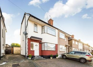 Thumbnail 4 bedroom semi-detached house for sale in Carter Close, Collier Row, Romford