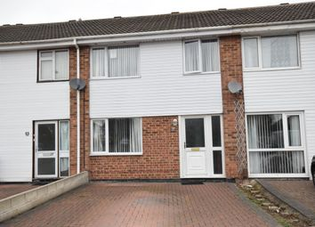 Thumbnail 3 bed town house to rent in Moorside Crescent, Sinfin, Derby