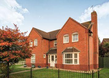 Thumbnail 4 bed detached house for sale in Ploughmans Way, Grange Park, Northampton