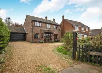 Thumbnail 4 bed detached house for sale in Attleborough Road, Rockland All Saints
