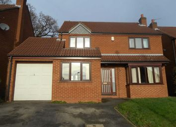 Thumbnail 4 bed detached house to rent in Buckminster Close, Oakwood, Derby